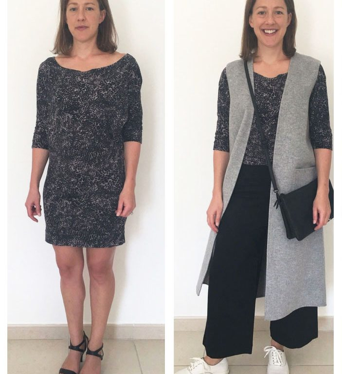 Revamp dresses that are now too short, in to a top!