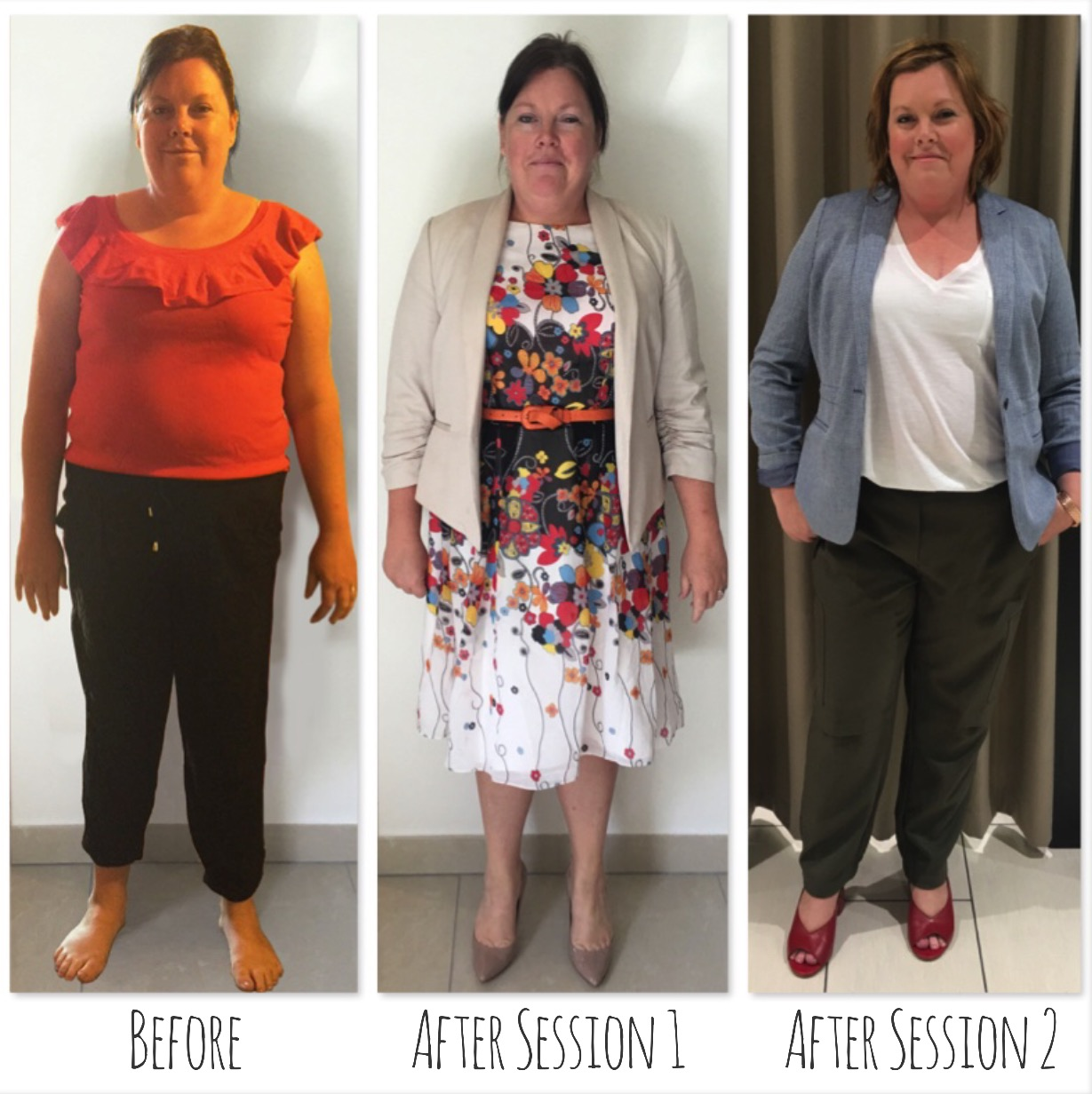 Trudy's transformation is incredible, flattering clothes & hair have made all the difference