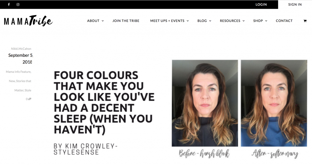 personal colour consultant sydney
